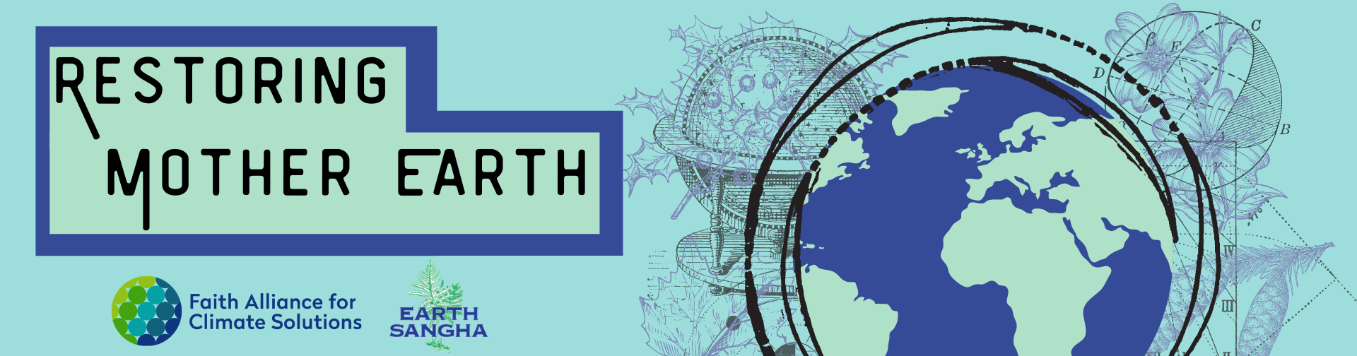 Restoring Mother Earth Fundraiser Logo